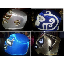 Mascaras De Luchadores P/adulto Esponja.son Nuevas!no Usadas