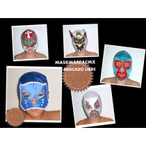 Mascaras De Luchador Para Niño,luchadores Y Super Heroes!!