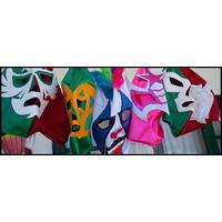 Lote De 10 Mascaras De Luchadores P/adulto Regular Calidad