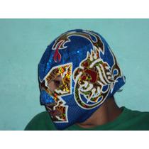Mascara De Luchador Dr. Wagner Jr Profesional Lucha Libre