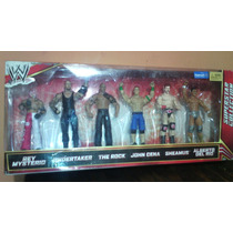 Wwe Super Star Colection Set De 6 Figuras