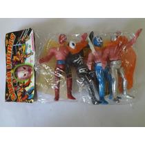 Luchadores De Plástico Mexicanos