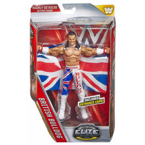 Wwe British Bulldog Elite 39