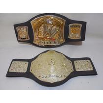 2 Cinturones Wwe Lucha Libre Niños Jack Pacific F184