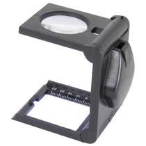 Lupa Cuenta Hilo Con Luz Led Lente 5x 25mm