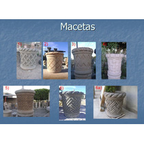 Macetas De Cantera Natural, Medida 60 Cm Altura, Varios Colo