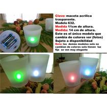 Maceta De Luz Plastico