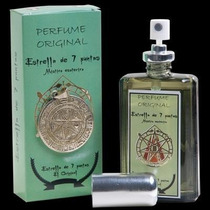 Poderoso Perfume Y Talisman Estrella 5 Puntas Directo D Cuba