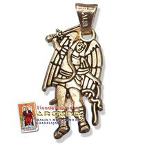 Dije San Miguel Arcangel - En Chapa De Oro