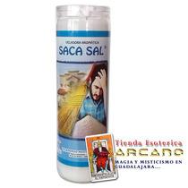 Veladora Aromática Saca Sal - Protección Contra Todo Mal
