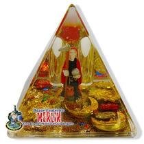 Piramide De La Santa Muerte / Atrae Protección Y Éxito