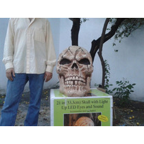 Halloween Disfras Calaca Craneo Muerte Enciende Ojos No G