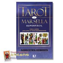 Set Tarot De Marsella - 22 Arcanos Mayores Y Libro Manual
