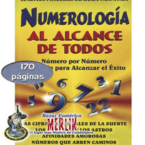 Numerología Al Alcance De Todos / El Libro Mas Practico.