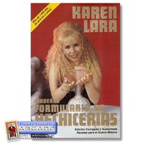 Moderno Formulario De Hechicerias - Karen Lara