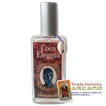 Perfume Coco Eleggua - Abrecaminos, Protección Y Prosperidad