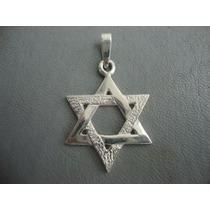 Estrella De David En Plata Fina - Talismán De Protección