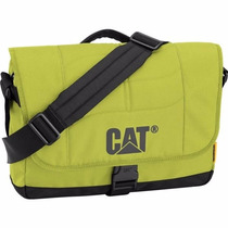 Backpack Mochila Messenger Laptop Caine Verde Cat Viaje
