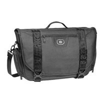 Maletin Ogio Rivet Messenger Black Maletin Laptop Bag