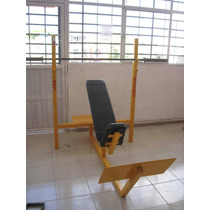 Bench Press Olimpico Inclinado S/b Marca:guerrra Fitness E.