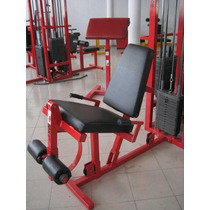 Silla De Extenciones Peso Integrado:guerra Fitness Equipment