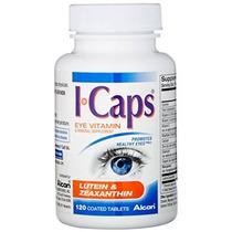 Icaps Luteína Y Zeaxantina Fórmula Comprimidos Recubiertos 1