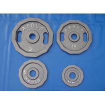 Disco Olimpico 39.9 Kgs Decagonal Pesa Gym Uno No 40