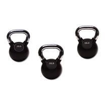 Set De 3 Pesas Rusas Premium Kettlebell Crossfit Gym