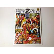 One Piece Film Z Guía Oficial Película C/poster Anime Manga