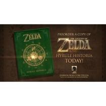 Libro De Legend Of Zelda Hyrule Historia En Inglés - Eex