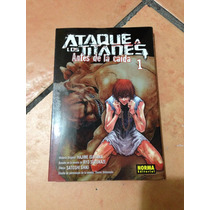 Manga Ataque De Los Titanes: Antes De La Caida 1 (ed Norma)