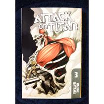 Attack On Titan # 3 (con Dvd Code Geass)