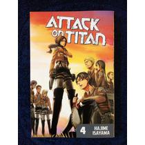 Attack On Titan # 4 (con Dvd Code Geass)