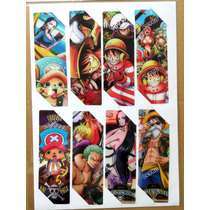 8 Separadores De Libro Manga One Piece Luffy Zoro Sanji Nami