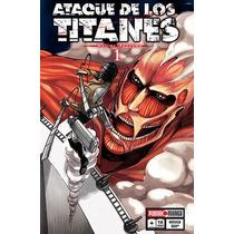 Ataque De Los Titanes Vol 1 Nuevo, Cerrado En Español Panini