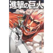 Shingeki No Kyojin - Paquete 16 Mangas Japoneses