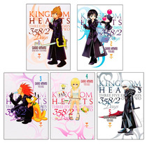 5 Pzas Kingdom Hearts 358/2 Days, Vol. 1 Al 5 Comics Manga