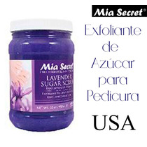 Exfoliante Mia Secret Profesional Pedicura Spa Estetica Uñas