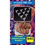 Tip Acripie Cristal Caja Con 100 Piezas Uñas Decoracion