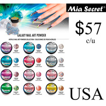 Acrilico Polvo Para Uñas Coleccion Galaxy Mia Secret Gelish