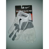 Excelentes Guanteletas Beis Nike Diamond Elite Pro 2 B/gris