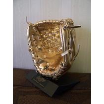 Trofeo Mini Guante Dorado Tipo Oro, Beisbol