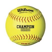 Wilson A9331asa Serie De Softbol (12-pack) Amarillo Óptica D