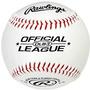 Rawlings Béisbol Liga Oficial 9 In. Cork Solid & Rubber Cent