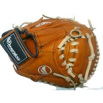 Guante Catcher America 34 Plg Derecho O Zurdo Beisbol Piel