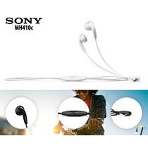 Audifonos Manos Libres Originales Sony Xperia Modelo Mh-410c