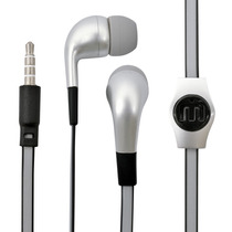 Manos Libres Flat Gris Iphone - Mobo Audio