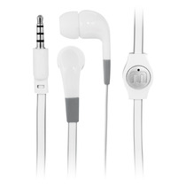 Manos Libres Flat Blanco Iphone - Mobo Audio