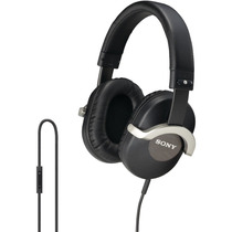 Sony Drzx701ip Monitor Headphones Para Iphone Color Negro
