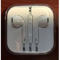 Iphone 5 Audifonos Originales Con Cargador P/auto